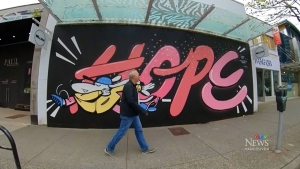 Plans for downtown's temporary murals