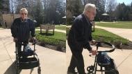 Veteran walk