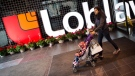A shopper walks through a Loblaws grocery store located in the former Maple Leaf Gardens in Toronto on Thursday, May 1, 2014. THE CANADIAN PRESS/Darren Calabrese