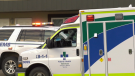 emergency vehicles at south edmonton motel