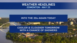 May 25 weather headlines