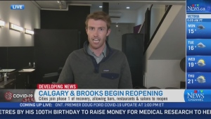 Calgary and Brookes begin reopening
