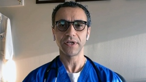 Toronto physician Dr. Abdu Sharkawy says the deaths of a husband and wife just minutes apart is a stark reminder the pandemic is not over.