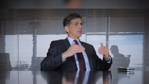 Anthony Marino is seen in this file photo. Marino has stepped down as president and chief executive and as a director of the company, effective immediately. (Jeff McIntosh/The Canadian Press)