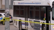 Arrest made after man stabbed on bus