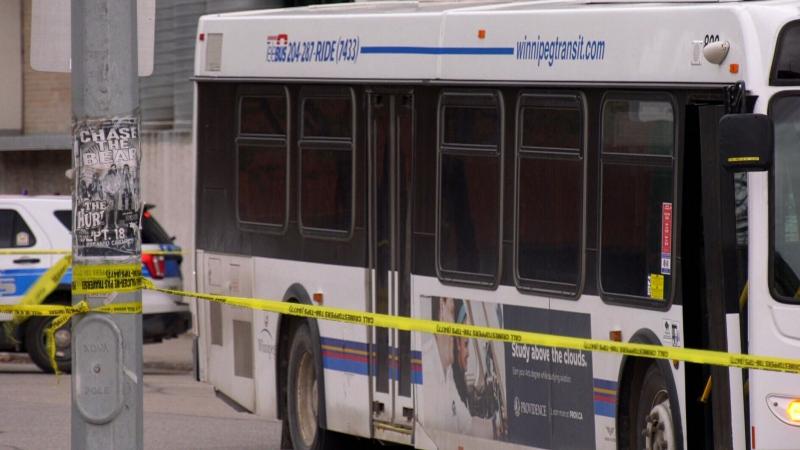 Arrest made after man stabbed on bus