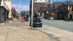 Quinpool Road is seen in Halifax on May 25, 2020.
