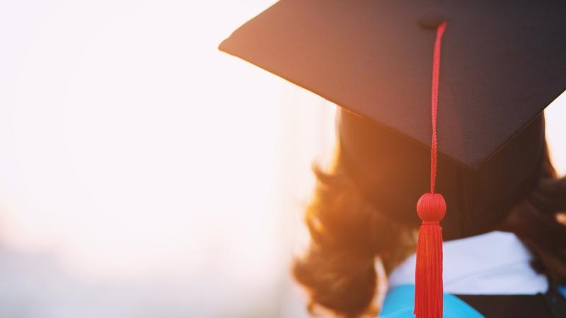 Graduation cap. (Shutterstock)