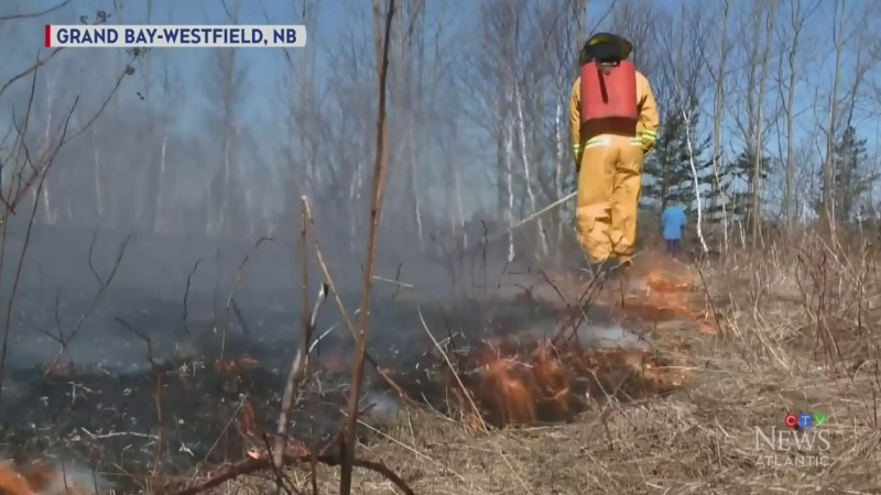 Burn ban in effect across Maritimes