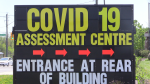 The Huronia Road COVID-19 assessment centre in Barrie on Monday, May 25, 2020. (Mike Arsalides/CTV News)