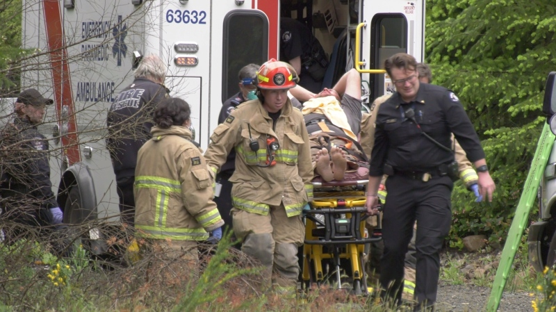 A man and a woman were taken to hospital for treatment of non-life threatening injuries following an ATV crash in the Comox Valley: (CTV News)