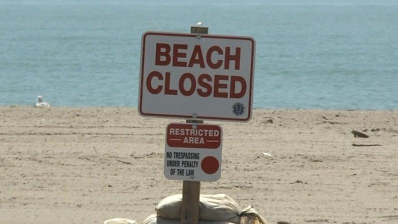 Beach close