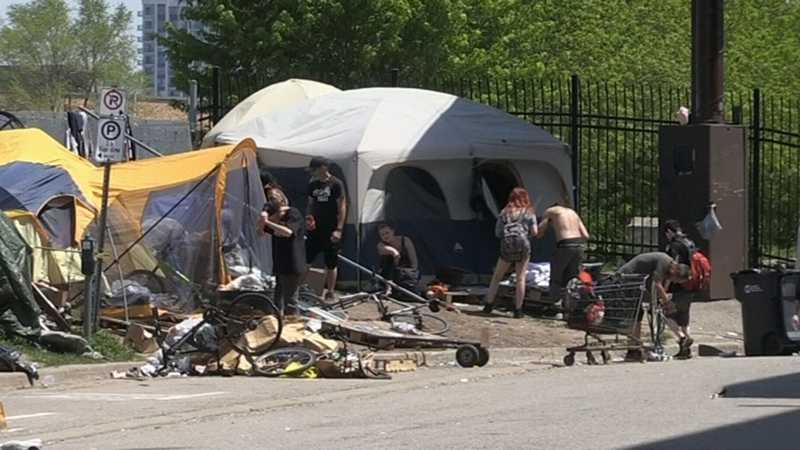 London homeless hit harder by hot weather