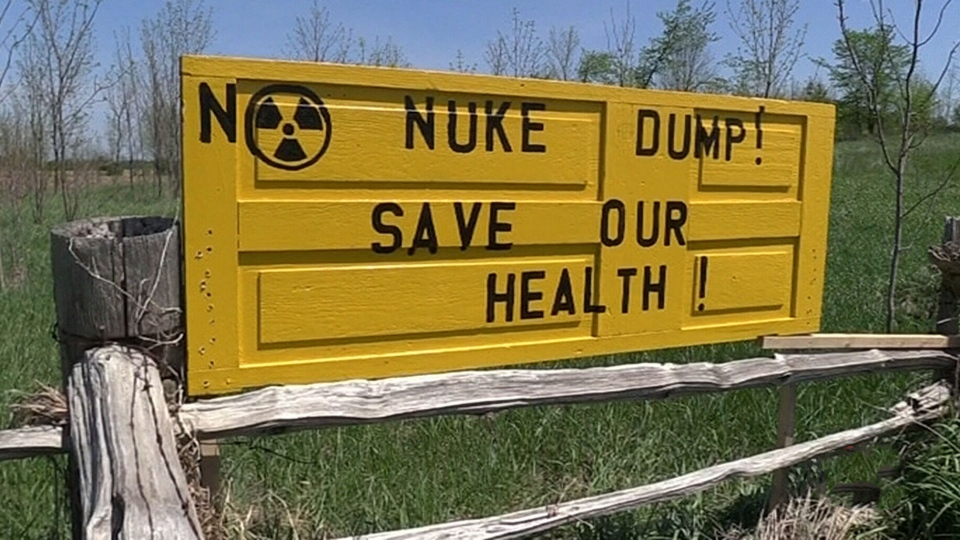 Debate over nuclear waste storage heats up