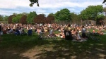 Toronto police estimated that as many as 10,000 people were at Trinity Bellwoods Park on May 23.