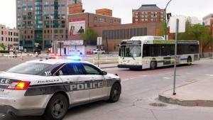 Police calling bus attack 'random'