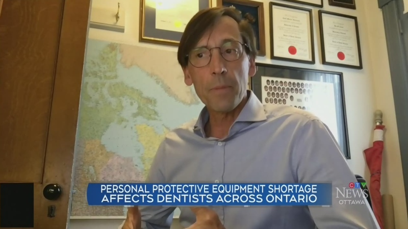 Dentists sidelined by lack of PPE