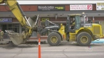 Full steam ahead on road construction