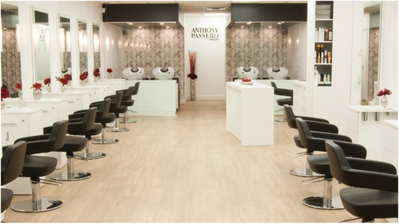Anthony Passero's Yorkville salon has been closed since late-March and clients and employees alike say they can't wait to return. (Anthony Passero Salon)