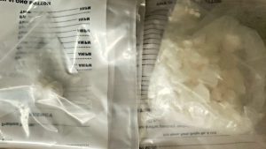 OPP seized suspected fentanyl from traffic stop on Hwy 17. May 24/20 (Ontario Provincial Police)