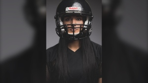 Breanne Ward has signed with the Denver Gold Rush, part of the new Women's Football League Association. (Photo courtesy Xpression Photography)
