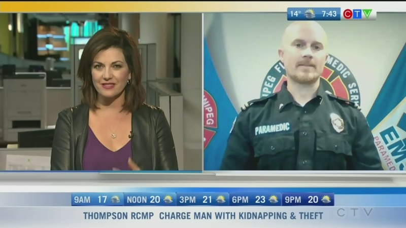 Crystal meth is a big problem in Manitoba and it's changed how paramedics respond to calls. Rachel Lagacé has more.