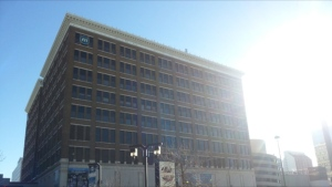 The Manitoba Public Insurance building is pictured in a file photo.