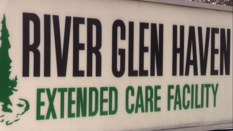 River Glen Haven extended care facility in Sutton, Ontario. (Mike Arsalides/CTV News)