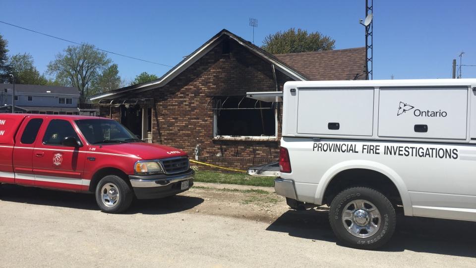 Fatal fire in Erieau, Ont.