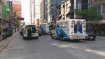 Multiple people have been injured after a daytime shooting in Toronto on May 26. (CTV News Toronto)