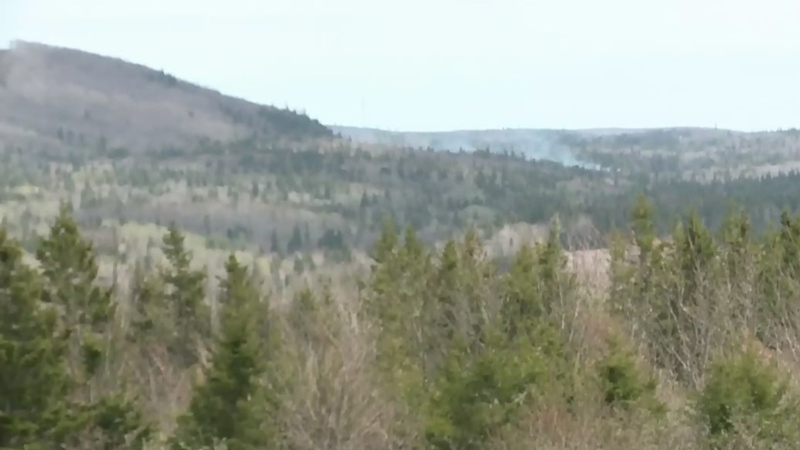 Antigonish County fire almost contained