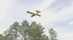 Water bombers battle Blackville blaze
