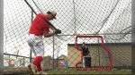 The Okotoks Dawgs are back on the baseball diamond for the first time in two months due to the COVID-19 pandemic.