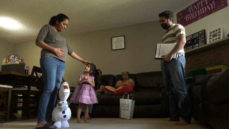 The Rao family from Calgary are going broke paying for their mother's cancer treatment, because she can't go home to India during the pandemic.