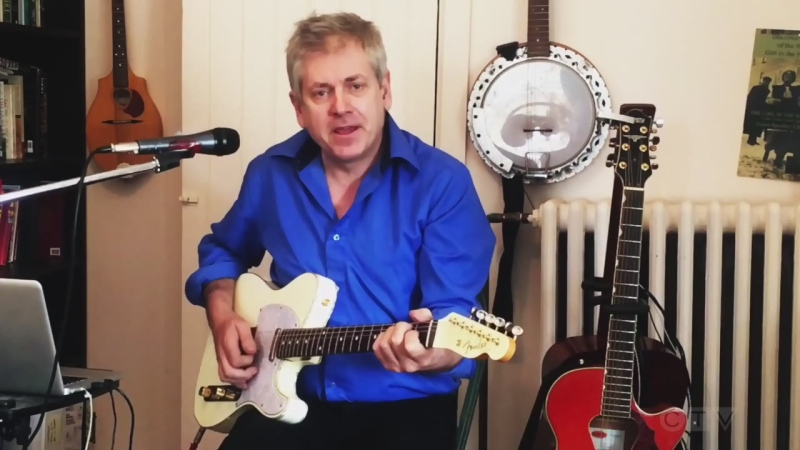 Northern MP Charlie Angus sings Bruce Springsteen's, 'Tougher Than the Rest.'