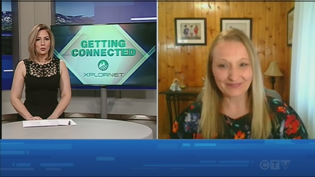 Watch Jessica Gosselin's interview with Jennifer Kinnon about how to connect with loved ones using social media apps.