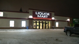 Teen sentenced after Liquor Mart robbery