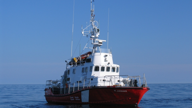 The CCGS W Jackman is seen in this undated handout photo. A Newfoundland community was in mourning Tuesday after the bodies of three fishermen were recovered and a search continued for a fourth crew member missing off the island's south coast. (THE CANADIAN PRESS/HO, Canadian Coast Guard)