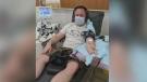 Saskatoon man donates plasma