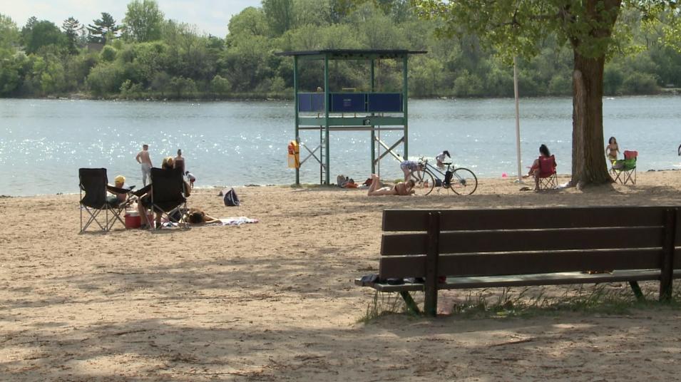 Ottawa beach heatwave