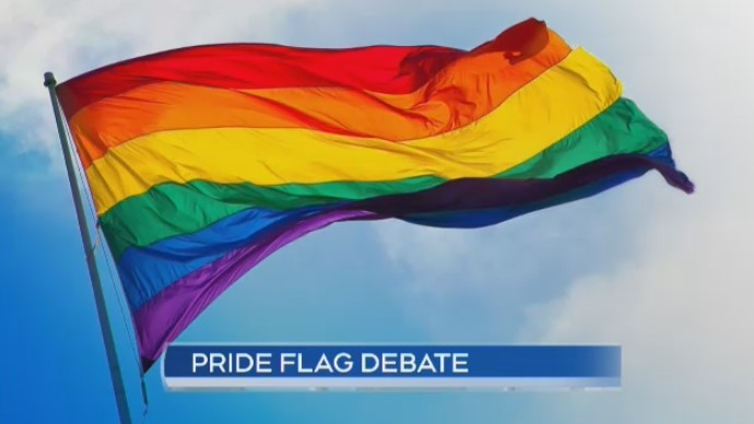 pride flag debate
