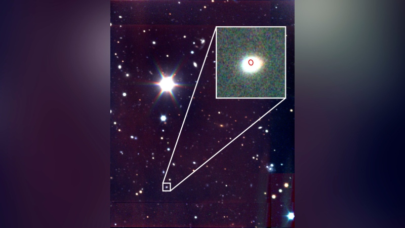 There is a new astronomical transient in the universe, and it is faster, heavier and brighter at radio wavelengths than its mysterious predecessors. (Giacomo Terreran / Northwestern University)