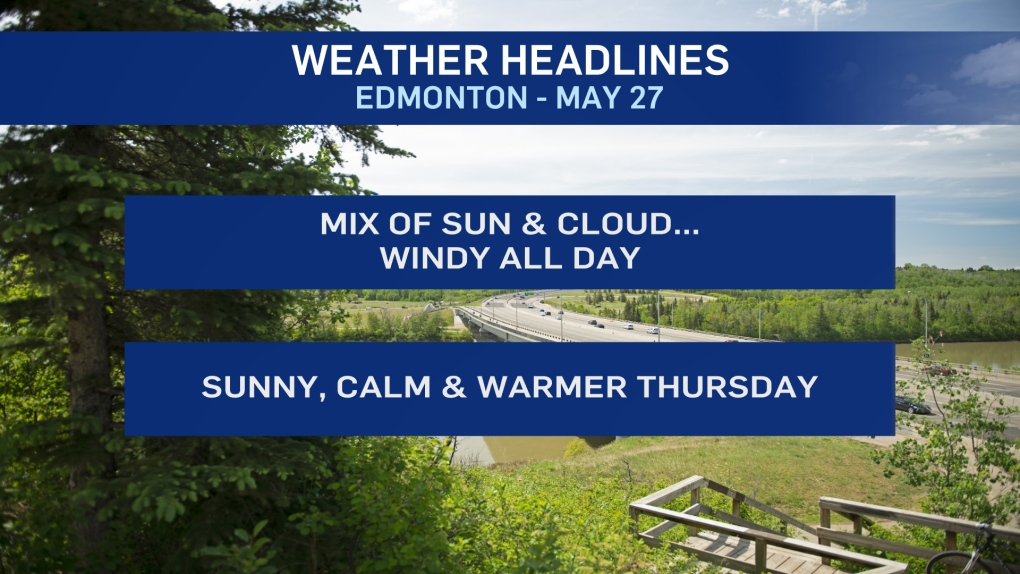 May 27 weather headlines