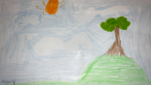Reegan Bresee-Edjoc, 8 years old, Grade 2, St. Thomas More School