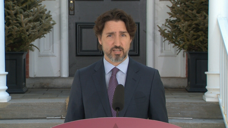 PM Trudeau speaks for May 27