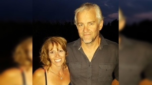 Don MacNeil seen in this photo with a former girlfriend. (Provided)