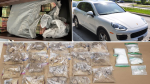Two Ottawa residents are facing charges after Ottawa Police seized ecstasy, cocaine, vehicles and $150,000 cash. (Photo courtesy: Ottawa Police Service)
