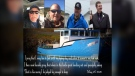 Ed Norman, left to right, Scott Norman, Jody Norman, Isaac Kettle, four fishermen from St. Lawrence, N.L., who went missing while fishing for crab on Monday as shown in this image provided by Melissa Mayo-Norman. The bodies of Ed, his son Scott and nephew Jody were recovered on Tuesday as the search for Kettle continued on Wednesday. (THE CANADIAN PRESS/HO-Melissa Mayo-Norman)