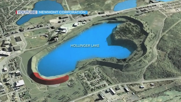 Newmont Porcupine's sustainability practices at Hollinger Lake (Newmont)