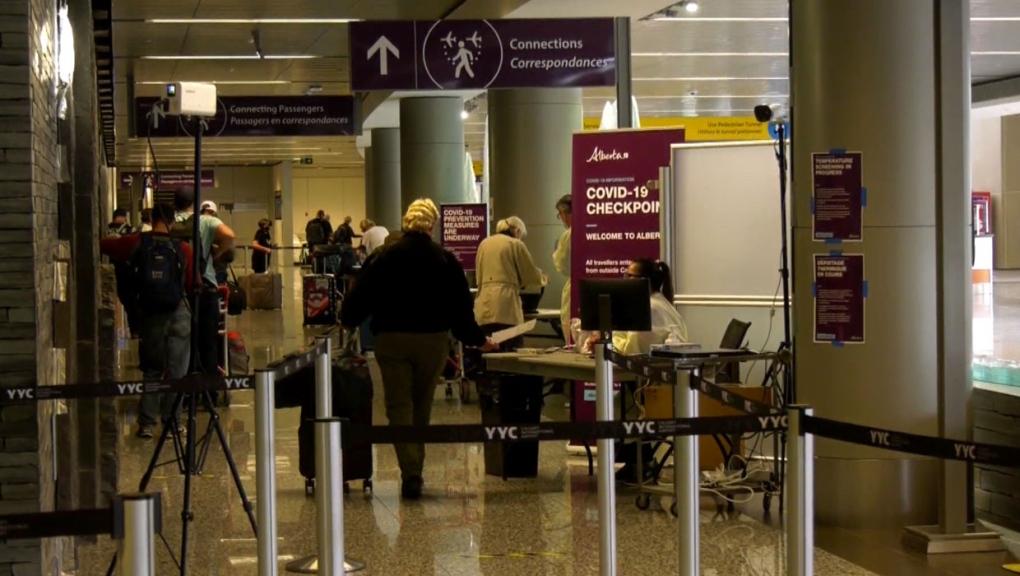 calgary, calgary international airport, passengers